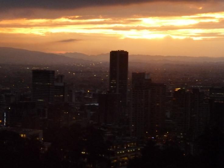 Sunset, Bogotá (Colombia)