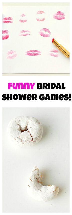 Funny Bridal Shower Games