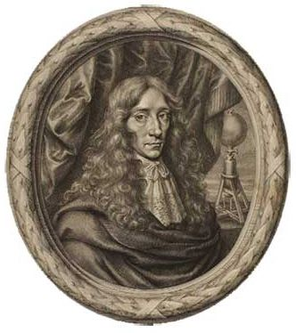 William Faithorne's engraved portrait of Boyle, with his air-pump in the background, 1664 (Sutherland Collection, Ashmolean Museum, Oxford)