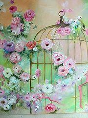 Une cage dorée…. Henriette Capretti