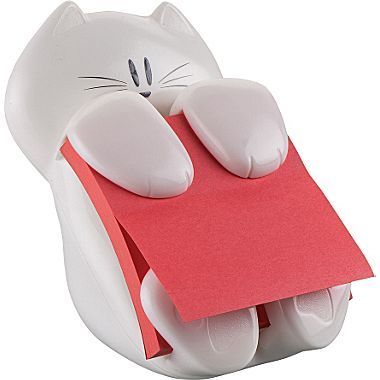 PostIt Pop-up Cat Dispenser | #staples.com | #office