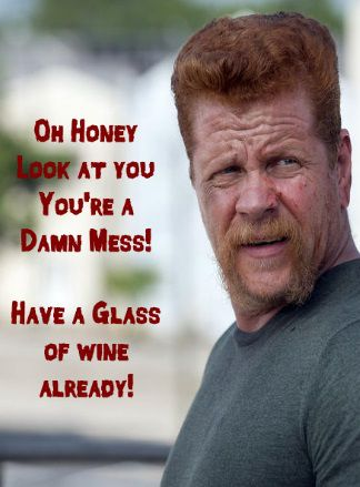 wine bottle label or tag funny free printable downloadable wine bottle labels found at thewinecrafter.com fun walking dead theme tv