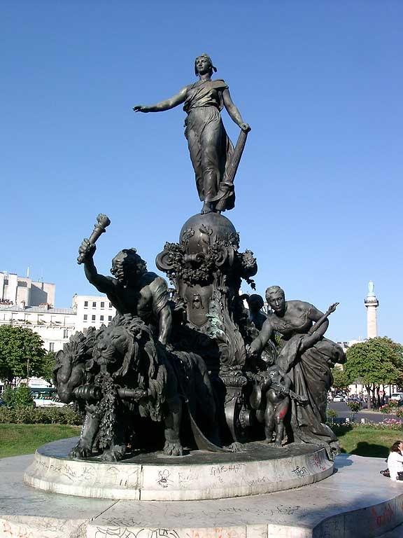 Aimé Jules Dalou - Triumf Republiky v Paříži
