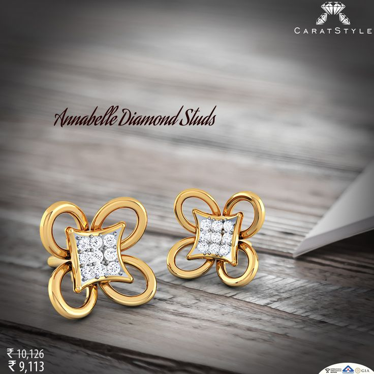 A gift to remember and memory to cherish… #earring #diamond #rakhi