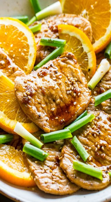 Orange Teriyaki Pork Tenderloin