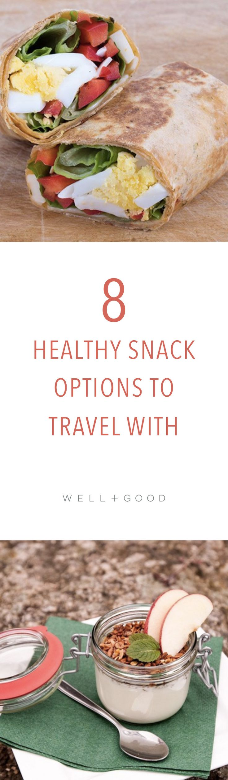 8 healthy snacks to travel with