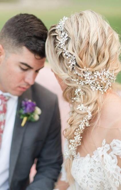 Hair Wedding Sideswept 49+ Best Ideas