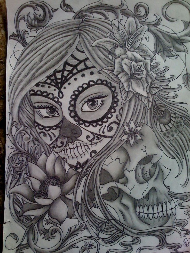 34 best Sugar Skull Day of The Dead images on Pinterest