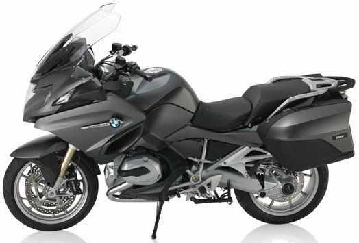 2014 BMW R1200RT More Aggressive And Sporty- for the boyfriend and without the saddle bags!