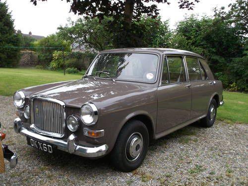 1966 VANDEN PLAS PRINCESS 1100 OK! Maybe not a classic and definitely not a sports car but what the heck...