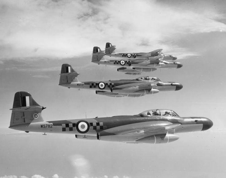 Meteor NF14s of 85 Squadron