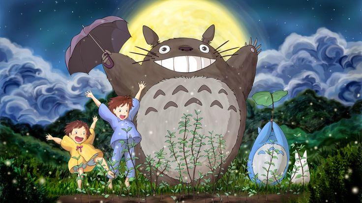 Anime ภาพพ นหล ง Anime การ ต น สวยๆ Anime Wallpaper Live Studio Ghibli Music Anime Totoro