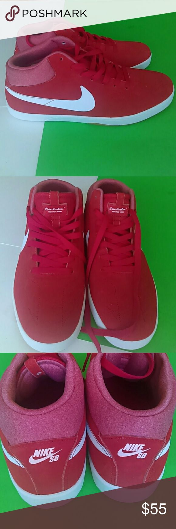 Nike men's Eric Koston Mid Brand new Eric Koston signature model Suede fabric Nike Shoes Sneakers