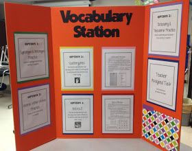 Love this - ideas for stations in 6th grade