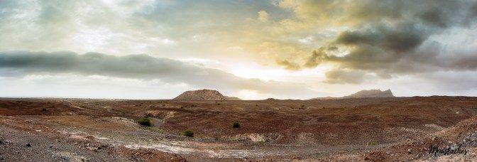 Cabo Verde - Boa Vista Sunset panorama