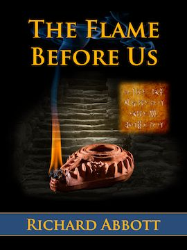 Cover design - The Flame Before Us, published by Matteh Publications $3.25