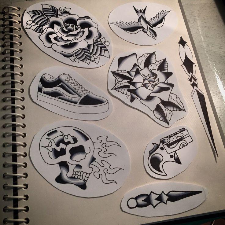 Old school Tattoo flash Pt.3