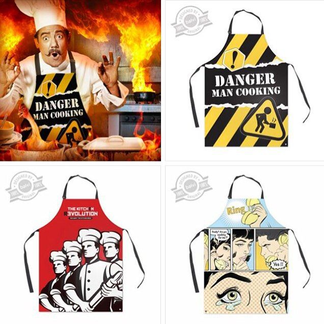 Danger... Man cooking!!! @BalviGifts