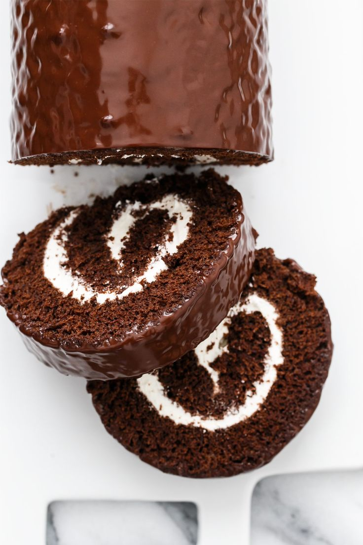 Giant Swiss Cake Roll. I love this idea for Girls Night In.