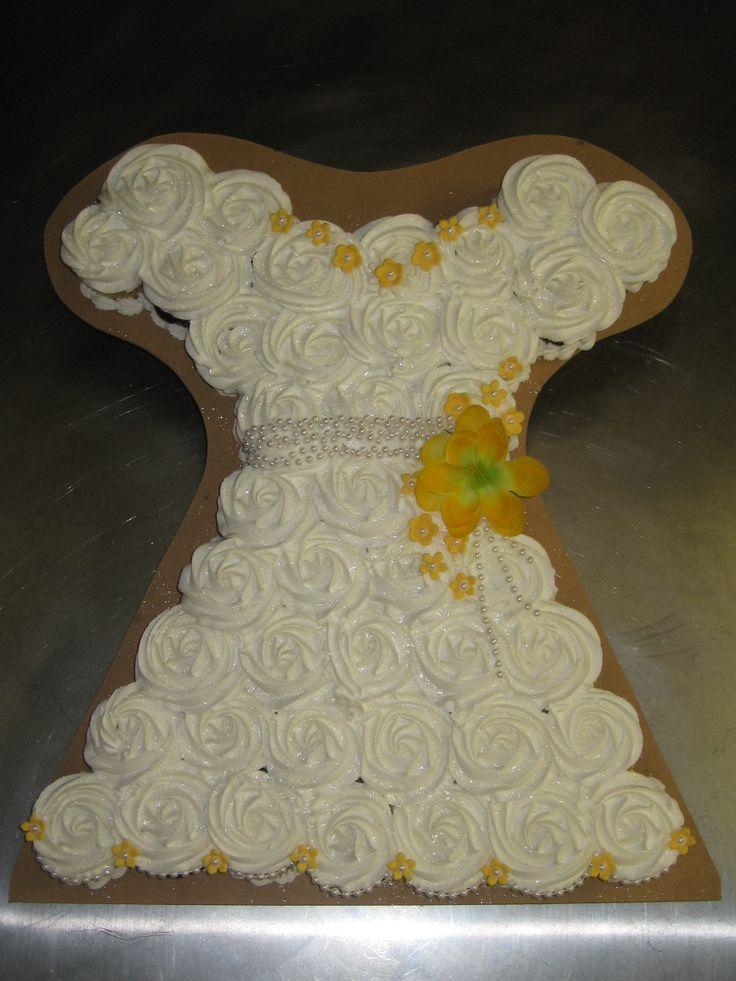 cupcake recipes for bridal shower%0A Bridal shower cupcake dress   bridalshowerideas  bridalshower  cupcakedress   cupcakes  bridalgown