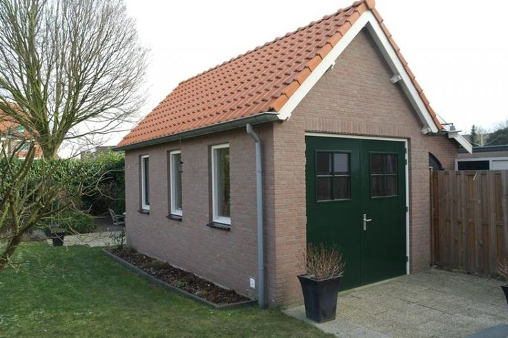 Vrijstaande garage Zaltbommel.