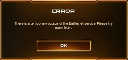 Error when logging in. I searched but no resolution. Anyone else having this issue after patch? #games #Starcraft #Starcraft2 #SC2 #gamingnews #blizzard