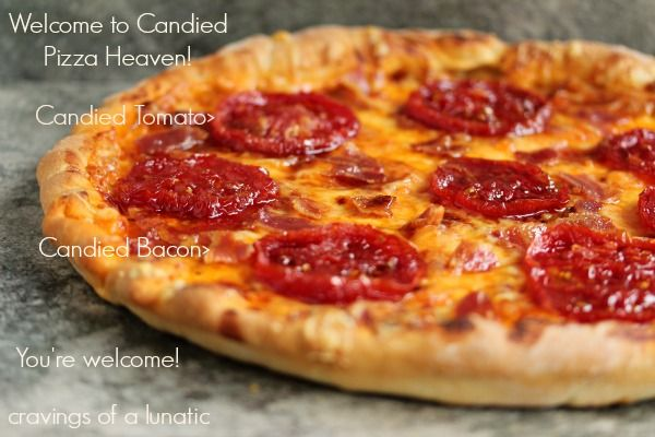 Candied Tomato and Candied Bacon Pizza and a Giveaway | Cravings of a ...
