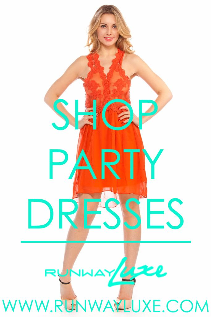 ~ ALWAYS PARTY READY ~ www.runwayluxe.com #luxe #fashion #dress #summerstyle #partydress
