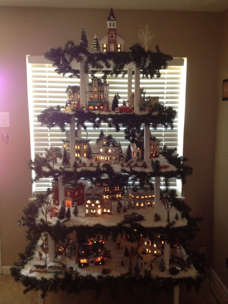 56 Best Images About: Best 25+ Christmas Village Display Ideas On Pinterest