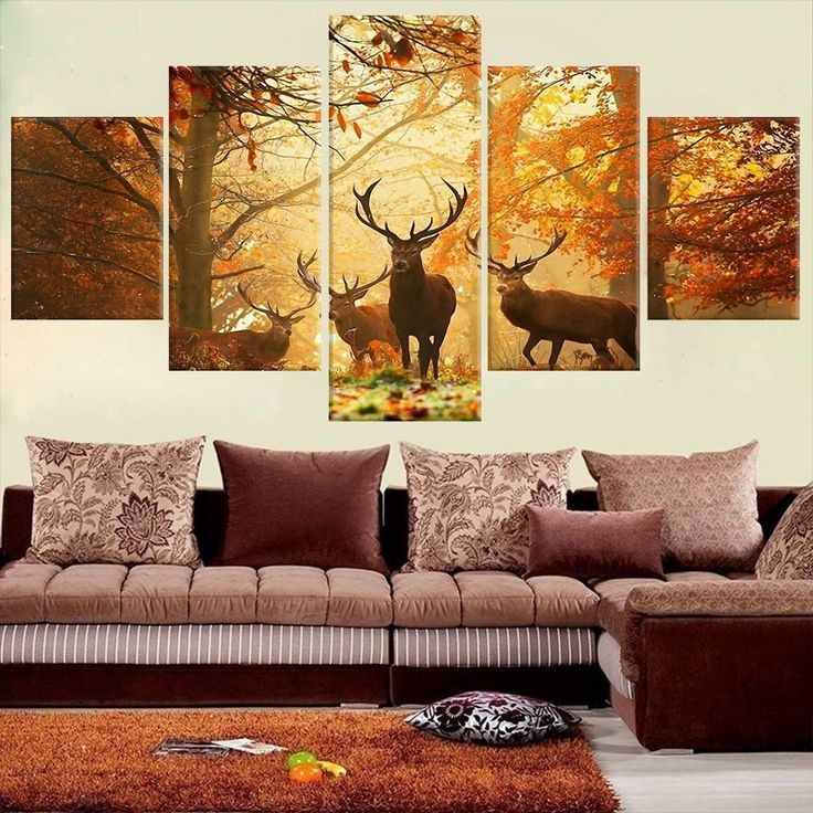17 best ideas about deer paintings on pinterest deer for Decoration murale cerf
