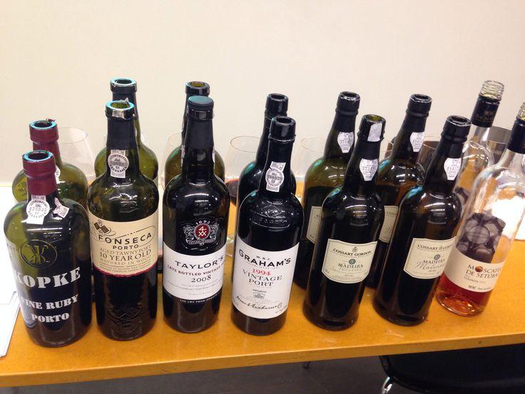 Fortified wine @ Restaurangakademien