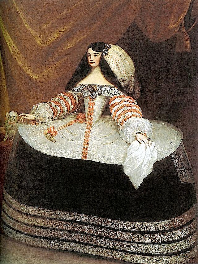 1660s Ines de Zúñiga, condesa de Monterrey by Juan Carreno de Miranda (Fundacion Lazaro Galdiano - Madrid Spain)