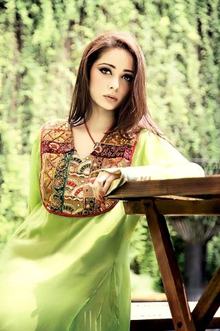 Looking like sky beauty not from earth in this beautiful great Eid collections and dresses.