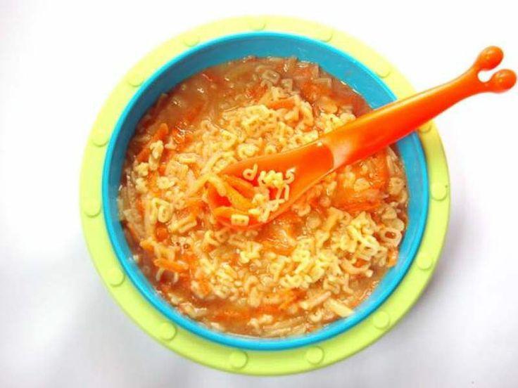 Buchstabensuppe_Für Babys kochen leicht gemacht