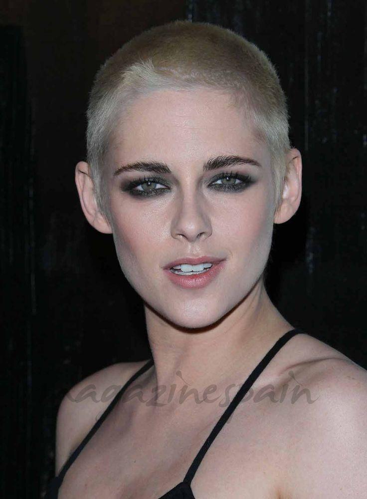 Raparse la cabeza está de moda   - Kristen Stewart