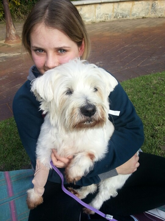 Chels and her girl Buffy, RIP our beautiful Buff, 2002-2012