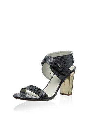 63% OFF Plomo Women's Margot Low Heel Sandal (Black)