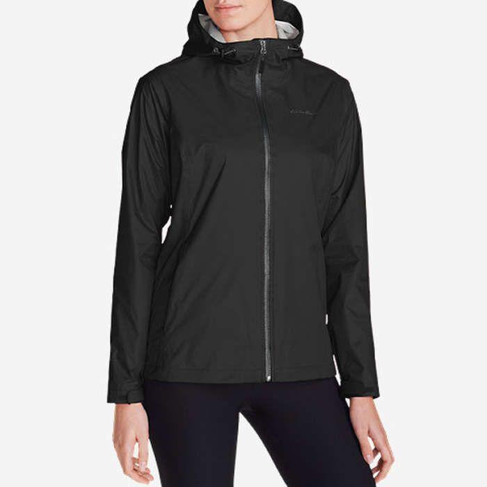 Rank & Style - Eddie Bauer Women's Cloud Cap Lightweight Rain Jacket #rankandstyle