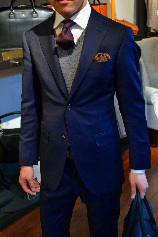23 best Men's suits style images on Pinterest