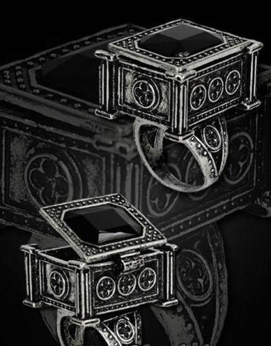 Restyle-Giftring-Poison-Ring-Gothic-Lolita-Victorian-Locket-Black-Sarkophagus