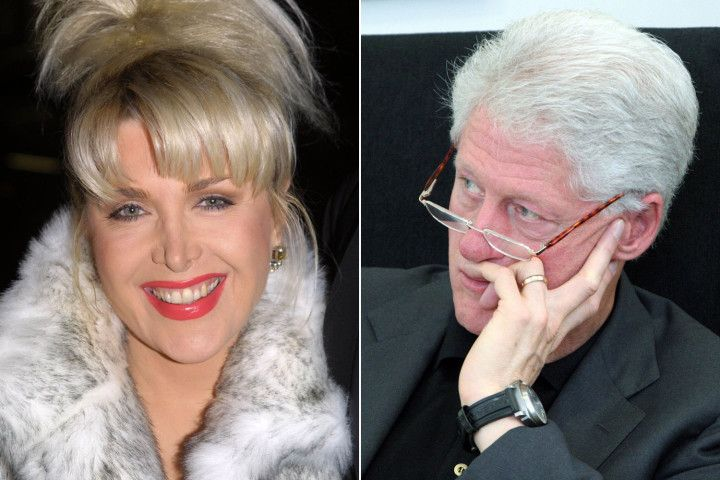 Gennifer Flowers threatens suit over Bill Clinton tapes  By Richard Johnson 12/30...more>
