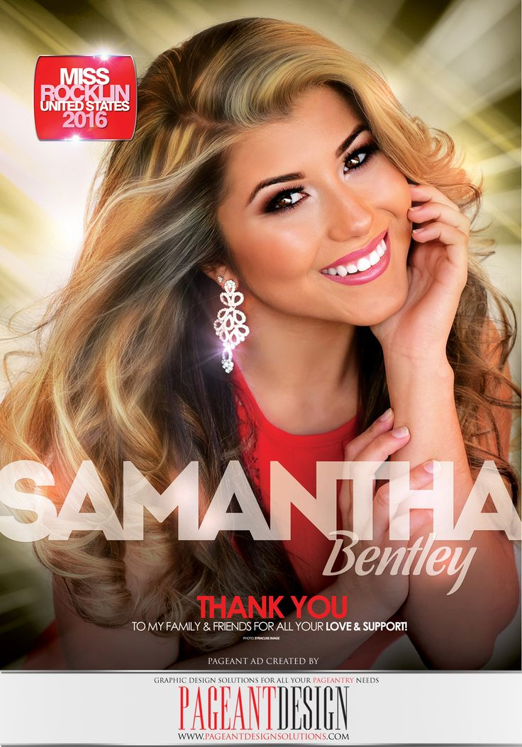 #‎AWESOMEpageantAD‬ designed for Samantha Bentley for the official MISS CALIFORNIA UNITED STATES Program Book | GET IN TOUCH if you need an awesome-looking, professionally-designed ad page! | ‪#‎PageantDesign‬ Graphic design solutions for all your pageantry needs! | For samples, check out: www.pageantdesign... and like us on facebook: www.facebook.com/... | ALL STATES, ALL AGES, ALL PAGEANTS SYSTEMS WELCOME! ‪#‎PageantAds‬ ‪#‎AWESOMEpageantADS‬