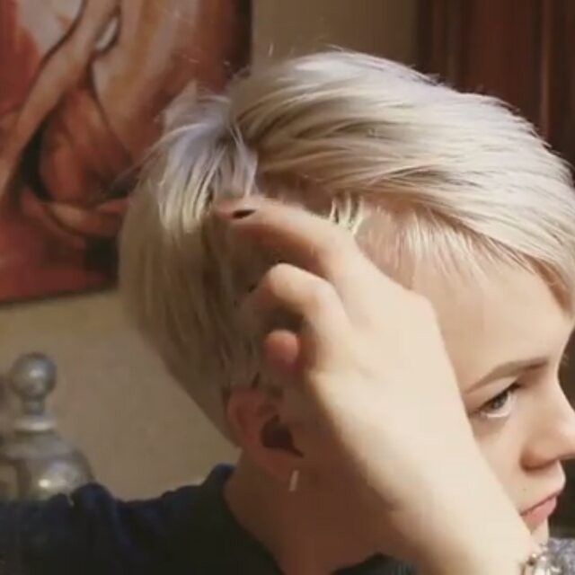 """2,708 Likes, 77 Comments - Short Hair  Pixie Cut Boston (@nothingbutpixies) on Instagram: """"Check out this styling tutorial by @sarahb.h . Do you want to see more of these type videos??? Yes…"""""""