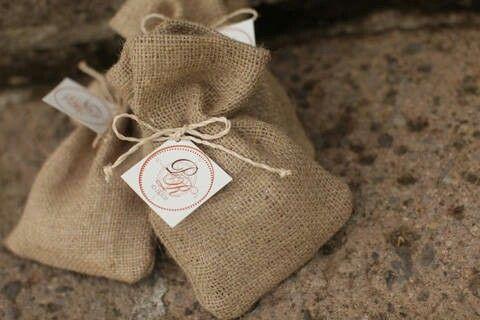 Jute sacks with coffee beans