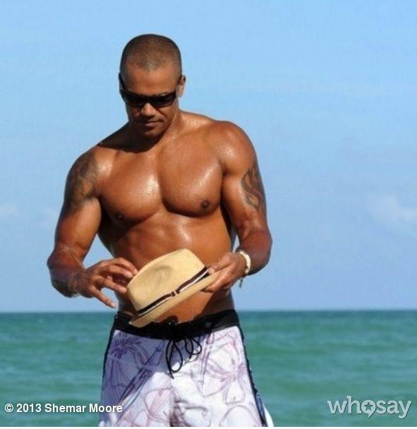 Naked Shemar Moore Gay