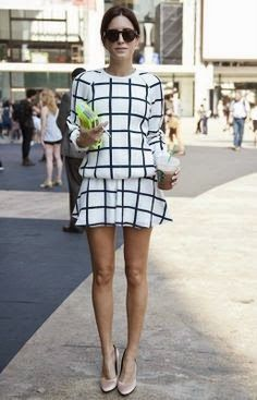 Becoming RAJE: Trend of the Moment - Grid Print - get it while is cool. A x