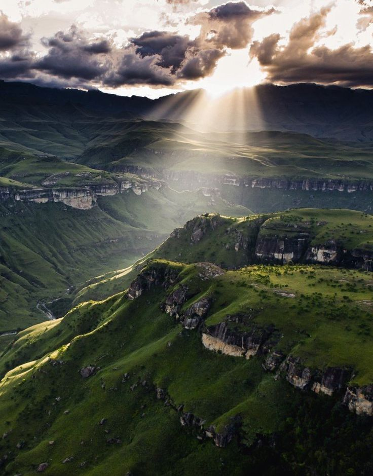 Drakensberg Mountains, South Africa: