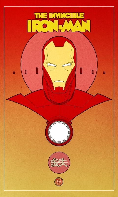 Iron Man: Comic Nerd, Art Layout, Geek Art, Retro Irons, Superhero Posters, Invinc Ironman, Francis Tsai, Super Heroes, Invinc Irons Man