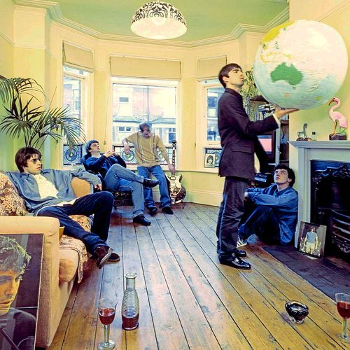 There are multiple artists who have used the name Oasis: 1. Oasis were an English rock band that formed in Manchester in 1991. Originally known as The Rain, the group was formed by Liam Gallagher (vocals and tambourine), Paul Arthurs (guitar), Paul McGuigan (bass guitar) and Tony McCarroll (drums, percussion), who were soon joined by Liam's older brother Noel Gallagher (lead guitar and vocals).