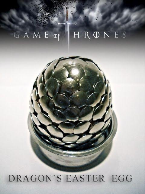 Dziennik BJ: Game of Thrones Dragon's Easter Egg DIY